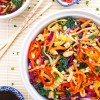 Colorful Asian Noodle Salad