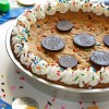Chanukah Gelt Cookie Cake