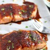 Roasted Salmon with Spiced Brown Sugar