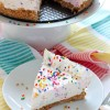 No-Bake Funfetti Cheesecake