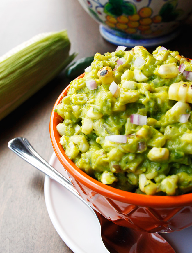 Charred Corn Guacamole