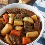 Beef Stew with Parsnips