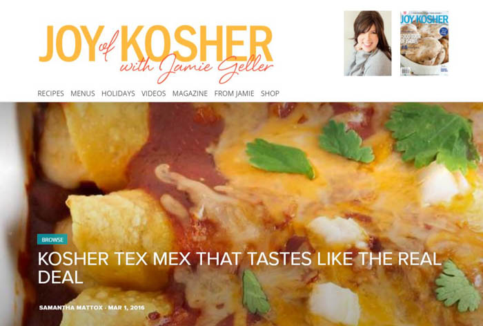 Kosher Tex Mex
