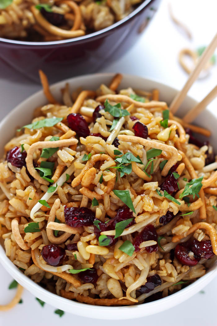 Crunchy Asian Rice Salad