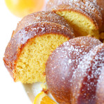 Orange Bundt Cake- This orange bundt cake recipe is bursting with orange flavor and covered in an addictive orange glaze. It's easy to throw together and a guaranteed crowd-pleaser! passthechallah.com